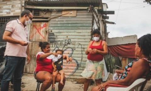 Distribuição de mil máscaras beneficia moradores de ruas e projetos sociais em Maceió