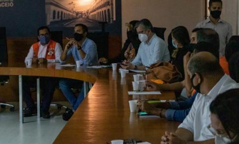 Secretarias definem plano para atender emergências provocadas pelas chuvas