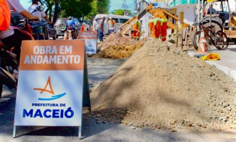 Prefeitura segue com manutenção e limpeza de galerias nos bairros de Maceió
