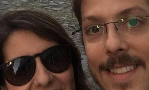 Fabio Porchat comemora fim de dieta com a esposa: '15 dias comendo alpiste'