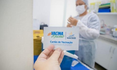 Índice de atrasados para 2ª dose da vacina cai para 6%, mas segue alto em Maceió