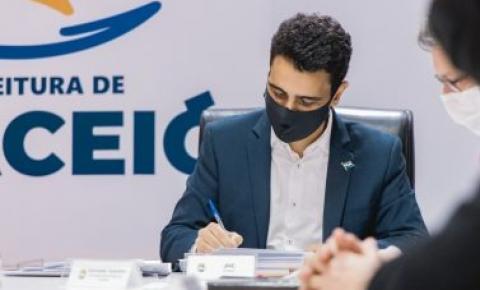 Prefeito JHC autoriza construção de Cmei no Benedito Bentes, nesta terça-feira (17)