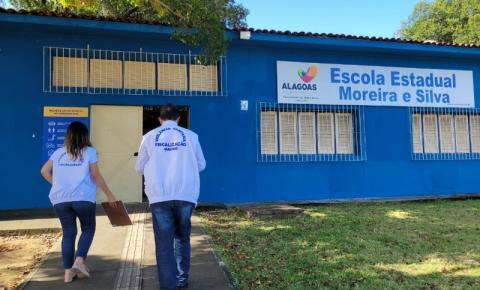 Vigilância Sanitária fiscaliza escolas após retorno às aulas no sistema híbrido