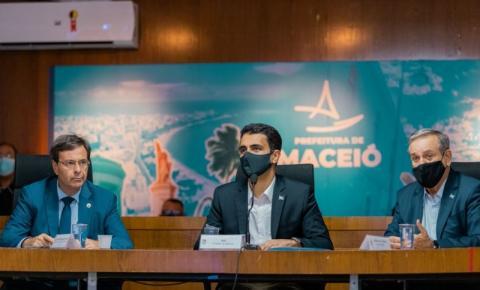 Prefeito JHC se reúne com ministro Gilson Neto, trade turístico e trata da retomada do turismo em Maceió