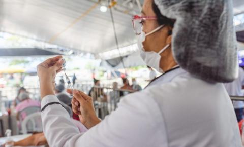 Maceió aplica apenas segunda dose da vacina contra a Covid-19 nesta quarta (1°)