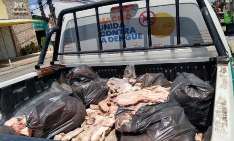 Vigilância recolhe mais 700 kg de produtos estragados à venda em Maceió