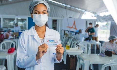 Mais de 40% dos adultos completaram a imunização contra Covid-19 em Maceió