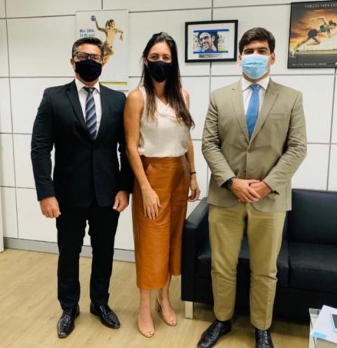 Em Brasília, secretário busca apoio para projetos esportivos de Maceió
